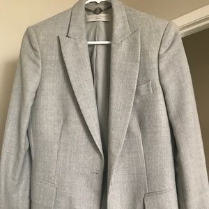 Women's Gray Boyfriend Blazer